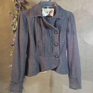 Urban Outfitters  Kimchi Blue Nautical Gray Jacket
